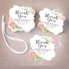 50 Thank Your Personalized Wedding Favor Tags Gift Tags Bridal Shower  Floral