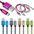 USB Type C 31 Braided Sync Charger Charging Cable for Galaxy S8 LG G5 Nexus 6P