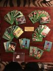 1977 TOPPS STAR WARS TRADING CARDS, GREEN SERIES #4, INCOMPLETE SET of 49 CARDS
