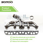 For Jeep Grand Wrangler Cherokee Comanche 40L Stainless Steel Exhaust Manifold