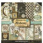 STAMPERIA DOUBLE SIDED PAPER PAD 12X12 ALCHEMY 10 SHEETS