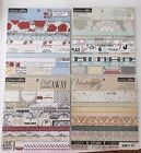 Scrapbooking Paper 6x6 Double sided cardstock 24 sheet pads