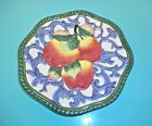 Fitz and Floyd Florentine Fruit Wall Plate, 9