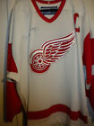 NHL DETROIT RED WINGS TED LINDSAY AUTOGRAPHED ON-ICE GAME HOCKEY JERSEY