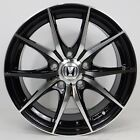 16 Honda Civic Accord Prelude S2000 CRZ Black Rims Wheels 5x1143 +35 SET4