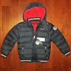 new DIESEL kids boys youth coat down jacket gray size L 14 16 MSRP 249