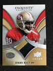2009 Upper Deck EXQUISITE JERRY RICE GM USED PATCH #d 03 75 49ers