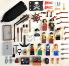 10 NEW LEGO PIRATE MINIFIGS figures minifigures captain boat treasure cannon lot