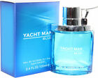 Yacht Man Blue By Myrurgia 3.4 Oz EDT Spray New In Box Sealed Cologne For Men