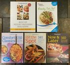 Weight Watchers Cookbooks Lot 5 Points Plus Comfort Classics Now