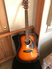 Pre-Owned Never used Yamaha F325D Acoustic Guitar Tobacco Brown Sunburst