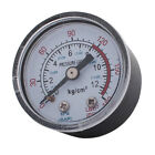 1/8ZG Male Thread 0-180PSI 1-11BAR Air Compressor Pressure Gauge - Clear O8 B6G6
