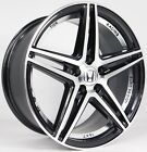 SET4 16 Honda Fit Civic Accord Insight Prelude Black Wheels Rims 4x100 +35