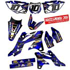 TM RACING 2015 2016 2017 - MX 125 144 250 300 DIRT BIKE RACE DECALS KIT GRAPHICS