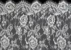 Bridal Lace Fabric Chantilly Eyelash Lace Floral Wedding Veils 59 3meterpiece