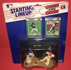 1989 Kenner Ryne Sandberg Vince Coleman One On One Sealed Starting Lineup
