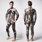 Camouflage Camo Spearfishing Wetsuit 3mm SCUBA Free Diving Brown Moss Pattern