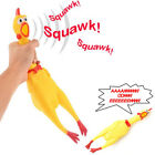 Fun Pet Dog Puppy Shrilling Rubber Chicken Chew Sound Squeeze Screaming Toy Gift