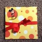 Mickey Mouse 6 x 6 Accordion Scrapbook Album Yellow