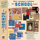 Paper Pizazz Busy Scrappers Solution School Papers by HOTP