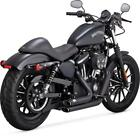 Vance  Hines Shortshots Staggered Full Exhaust System Black 47229