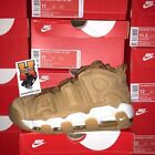 Nike Air More Uptempo 96 Wheat Flax AA4060 200 New Men Size 7 14