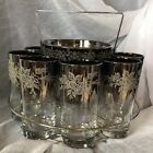 é Etched Bar Glasses Ice Bucket