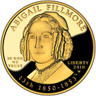 2010 W First Spouse Gold PRF Abigail Fillmore w Box and Cert