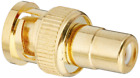 Monoprice BNC Male to RCA Female Adaptor - Gold Plated