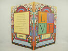 Love Is by King James Bible 2001 Picture BookVG SIGNED