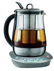 Mr. Coffee Hot Tea Maker and Kettle, Stainless Steel