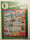 Hygrade Postage Stamps 50 Ships and Boats NEW package Cancelled