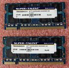 SuperTalent Hynix 8GB 2x4GB DDR2 800MHz PC2 6400 SO DIMM Laptop Memory