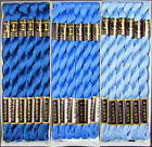36x Needlepoint Embroidery THREAD Anchor Cotton Pearl 5 Blues FL192