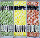 36x Needlepoint Embroidery THREAD Anchor Cotton Pearl 5 Mixed Lot FL53
