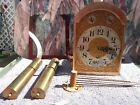 Rare Antique Hall Chime Clock 1916 Grandfather Waterbury Westminster No Case