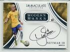 Neymar Jr 2017 Immaculate Collection Modern Marks Auto #21 25