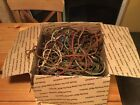 Lot Vintage Cloth Wire From Phone Repair Western Electric Bell Kellogg Etc