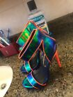 heels multicolored high heel size 6 1 2 only worn once
