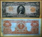 1922 Large Size 20 GOLD CERTIFICATE No Reserve