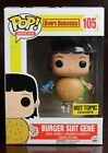 Bob's Burgers Burger Suit Gene Hot Topic Exclusive FUNKO Pop Vinyl Figure