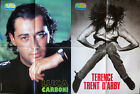 Tutto Musica Poster Manifesto – LUCA CARBONI – TERENCE TRENT D'ARBY – 54 x 41 cm