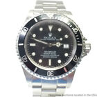 Rolex Sea Dweller 16660 Stainless Steel Black Dial Quickset Vintage Watch
