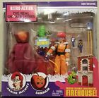 BRAND NEW Real Ghostbusters Janine Melnitz Samhain Retro Action Firehouse MINT