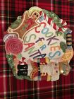 Fitz & Floyd Nutcracker Sweets Gingerbread Plate Candy Dish Cookie Plate