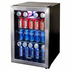New Three Shelf Newair Appliances Stainless Steel Beverage Drink Beer Cooler!