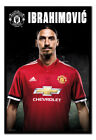 Manchester United Zlatan Ibrahimovic 2017 2018 Framed Cork Pin Board With Pins