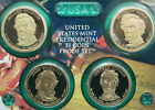 2010 Proof Presidential 1 One Dollar US Mint 4 Coin Set No Box