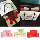 1Pc Heart Printed Paper Hand Bags Sweety Gift Wedding Candy Party Festival Pouch