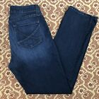 NYDJ Not Your Daughters Jeans Womens Straight Lift Tuck Stretch Size 12
